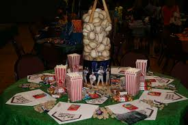 banquet centerpieces baseball banquet table party ideas banquet tables