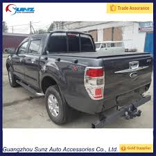 Ford Ranger Truck Accessories - for ford ranger t6 4x4 cars taillight cover chrome rear lamp trim