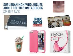 Suburban Mom Meme - the suburban mom who argues about politics on facebook starter