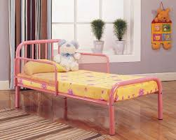 Metal Toddler Bed Red Metal Toddler Bed Home Design Ideas