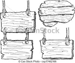 plank artwork grunge wooden plank isolated on white background clip vector