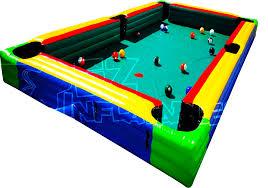 Human Pool Table by Bounce Houses Ohio Bounce Houses Mechanical Bull Trackless