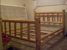 Log Queen Bed Frame Queen Size Log Bed Frame B33 In Worthy Bedroom Design Ideas With