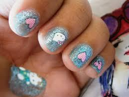 hello kitty nail design images nail art designs