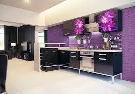 purple kitchen decor home design styles
