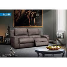 canap relax simili cuir relax design en simili cuir coloris marron