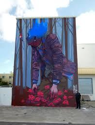 etam cru brightens city walls with epic colorful street art murals high hopes