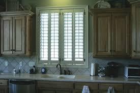 kitchen window shutters interior kitchen shutters