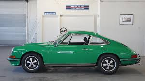 green porsche 911 1973 porsche 911 t coupe viper green lti cars
