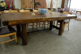 Rustic Farmhouse Dining Room Tables Rustic Farmhouse Dining Room Tables On Table Pertaining To 1
