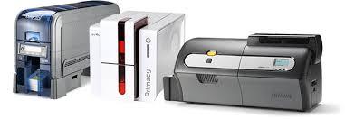 id card printer selector