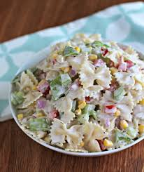 Summer Pasta Salad Recipes Ham And Cheese Pasta Salad That U0027s My Home