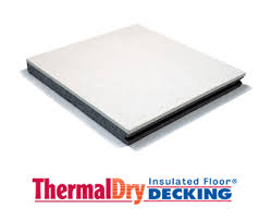 Basement Subfloor Systems - thermaldry insulated floor decking basement subfloor system