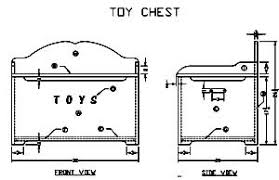 How To Make A Toy Box Bench Seat by 20 Free Toy Box Plans Operation Toy Containment