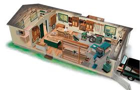 Woodworking Plans Toy Garage by Garage Shop Layout From Finewoodworking Com Wood Shops And Toy