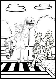 traffic safety signs coloring pages u2026 riicky pinterest