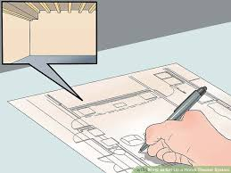 home theater floor plan 4 ways to set up a home theater system wikihow