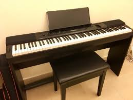 casio px 350m privia electronic piano with stand and bench guide