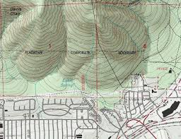 topographic maps for the us and canada in a maps interface