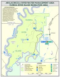Florida Toll Road Map by Florida River Island Northwest Florida Water Management District