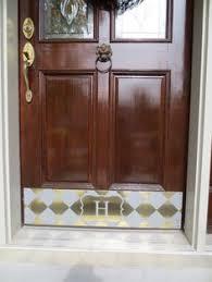Exterior Door Kick Plate Custom Made Door Kick Plates Deck The Door Decor Home