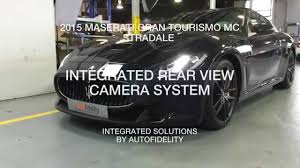 2016 maserati granturismo rear 2015 maserati granturismo mc stradale integrated rear view camera