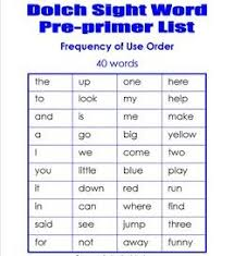 dolch sight words lists flashcards games and worksheets
