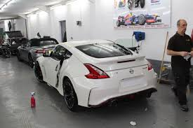 nissan 370z nismo 2010 nissan 370z nismo gloss black roof wrap u2013 boundary car care