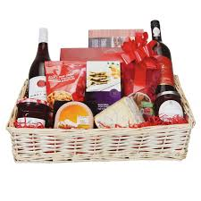 christmas hamper basket kit cellophane bow make your own large