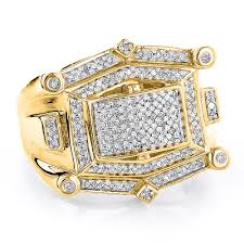 mens gold diamond rings yellow diamond rings for men ring diamantbilds