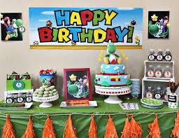 mario birthday party yoshi mario birthday yoshi mario birthday party