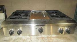 Kitchen Aid Cooktops Deliver A Kitchenaid Pro Style 36 Gas Cooktop Plus Griddle To