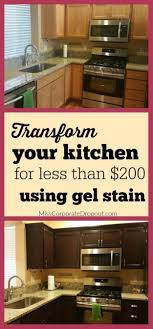 staining kitchen cabinets yourself 34 diy ideas for kitchen cabinets stained kitchen cabinets