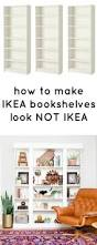 top 25 best ikea bookcase ideas on pinterest ikea billy hack
