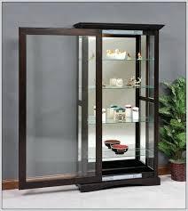 Cabinet Door Display Hardware Display Cabinet With Glass Door Black Modern Display Cabinet With