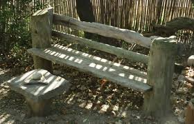 bench stunning tree stump bench 26 awesome outside seating ideas