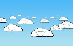 happy clouds wallpaper 1680x1050 id 27605 wallpapervortex com