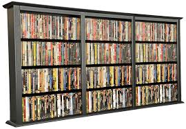 Wooden Cd Storage Rack Plans by Dvd And Cd Storage Furniture Decoration Access Triple Wall Mount