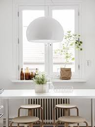 Simple White Dining Room Honeysuckle Life 17 Best Images About Dining Area On Pinterest Eames Lamps And