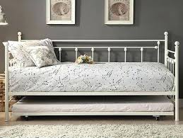 Single Metal Day Bed Frame Metal Day Bed Picture Of White Metal Daybed With Trundle Ikea