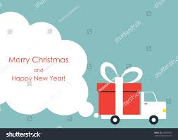 christmas new year greeting card gift stock vector 503955565