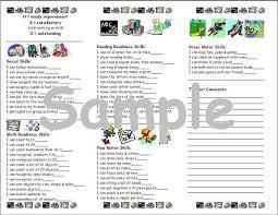 preschool report card template preschool report card template fieldstation co