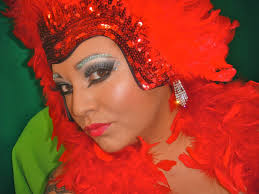 Las Vegas Showgirl Halloween Costume Viva Las Vegas Showgirl Makeup U0026