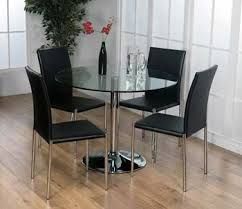 Small Glass Dining Table And 4 Chairs Best 25 Glass Dining Table Set Ideas On Pinterest Glass Dining