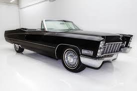 black friday american muscle 1968 cadillac deville triple black 472 american dream machines