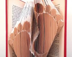musical notes book folding pattern diy gift for book art