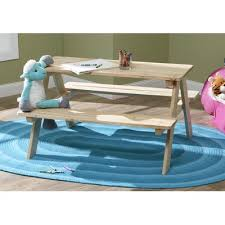 Kids Outdoor Picnic Table Atlantic Outdoor Kid U0027s Wood Picnic Table U0026 Reviews Wayfair