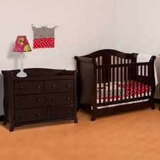 Mini Crib With Changing Table by Baby Cribs 3 Piece Nursery Furniture Set Baby Cribs Walmart