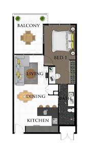 brisbane real estate floor plans u2013 architectural visualisation image