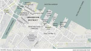 Map Of T Boston by Innovation District Needs A Human Touch The Boston Globe